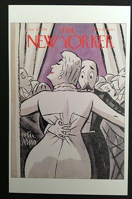 POSTCARD FROM THE NEW YORKER - January 6, 1940 Cover Postcard - NEW