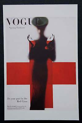 POSTCARDS FROM VOGUE - March 15, 1945 - Cover Postcard - NEW