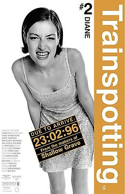 """Trainspotting movie poster - 11"""" x 17"""" inches  - Diane  - Kelly Macdonald"""