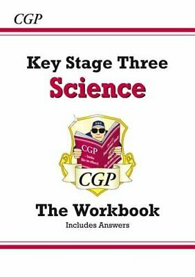 KS3 Science Workbook (with answers) by CGP Books Paperback Book The Cheap Fast