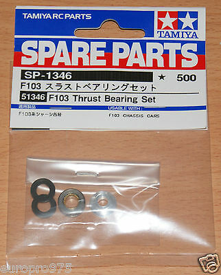 Tamiya 51346 F103 Thrust Bearing Set (F101/F102/F104/F104W/Group-C), NIP