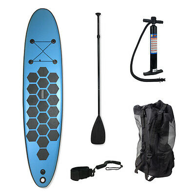 SUP Board Stand Up Paddle Surfboard inflatable incl. Paddel ISUP Paddling 290cm