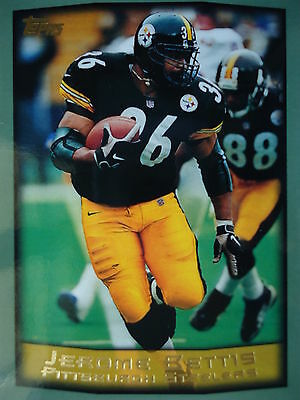 NFL 125 Jerome Bettis Pittsburgh Steelers Topps 1999