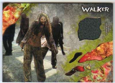 2016 Topps The Walking Dead Survival Box Infected Costume Relic /99 #22 Walker