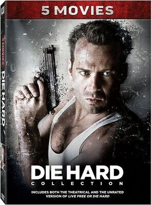 Die Hard 5-Movie Collection (2017, DVD NEUF) (RÉGION 1)