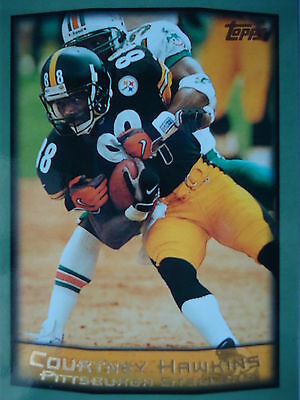 NFL 179 Courtney Hawkins Pittsburgh Steelers Topps 1999