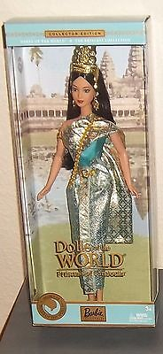 BARBIE ~ Dolls of the World Princess Collection ~ 2003 ~ CAMBODIA ~ #B3460 ~NRFB