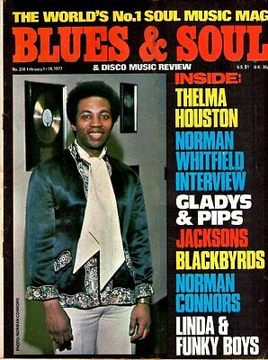 Norman Connors Blues & Soul Issue 218 1977    The Jacksons    Norman Whitfield