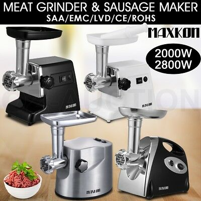 New Electric Meat Grinder Sausage Kubbe Pasta Maker Mincer Filler Stuffer