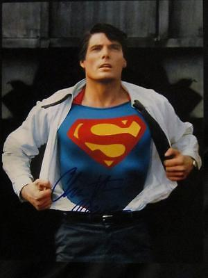 Christopher Reeve Mint Photo Signed & Autograph