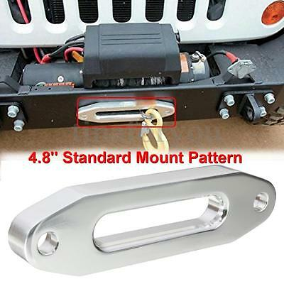 Universal Aluminum Hawse Fairlead for Synthetic Winch Rope Cable 3000lbs 4000lb