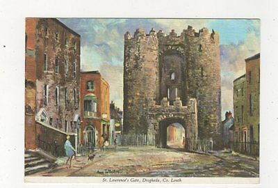 St Lawrences Gate Drogheda Co Louth Ireland 1977 Art Postcard 985a