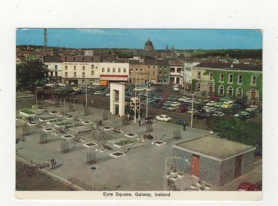 Eyre Square Galway Ireland 1973 Postcard 985a