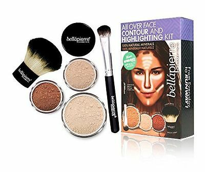 bellapierre COSMETICS Contouring and Highlighting Kit Clair - Sculpter NEUF