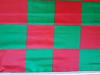 County Mayo Ireland Checkered  Gaa Hurling Flag  1.5 Ft By 2Ft Seemed New