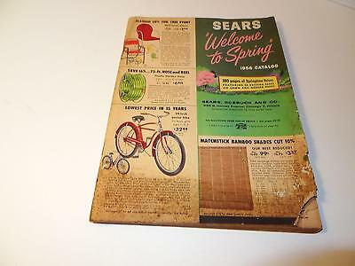 """Sears """"Welcome To Spring"""" 1956 Catalog, 180 Pages of Springtime Values"""