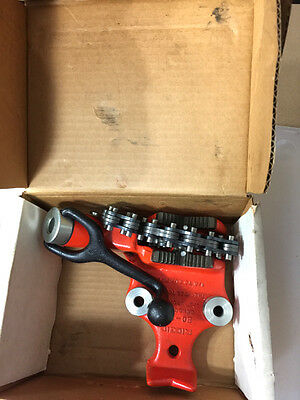 RIDGID TOP SCREW BENCH CHAIN VISE, BC-210, Thread Pipe, New/Old, FREE SHIPPING!