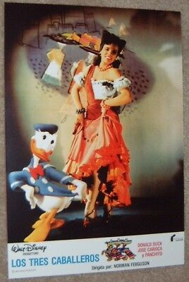 Walt Disney's The Three Caballeros movie poster print # 6