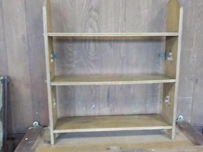 Vintage Country Style Pine Wall Shelves