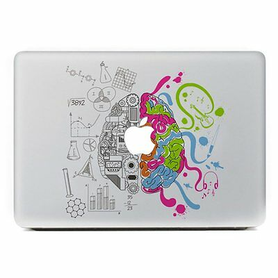 Left Right Brain Tree Laptop MAC Macbook decal sticker for Apple Air Pro Retina