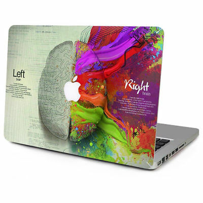 Left Right Brain Cover Skin Sticker Laptop MAC Decal for Apple Air Pro Retina
