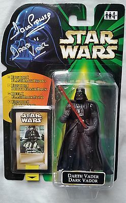 Dave Prowse Hand Signed Darth Vader Star Wars Figure (Unopened) See Proof/coa