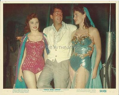 It's A Three Ring Circus For Dean Martin Orig Vintage Us Mini Lobby #1