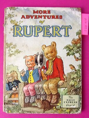 More Adventures of Rupert 1953 The Daily Express Annual (B)