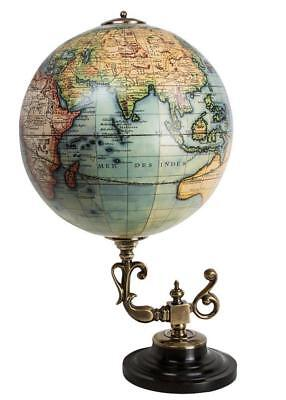 G559: Classic Baroque Globe on Bronze Stand, After DIDIER ROBERT DE VAUGONDY