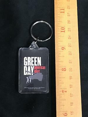 Green Day Keychain 2005 American Idiot Vintage Billy Joe Armstrong