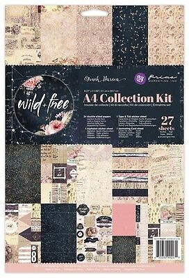 Prima Marketing Inc: Wild & Free Collection: A4 Collection Kit