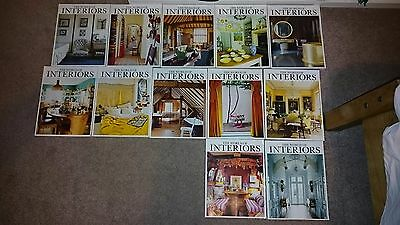 World of Interiors Magazine - 2009 - 12 Issues Complete