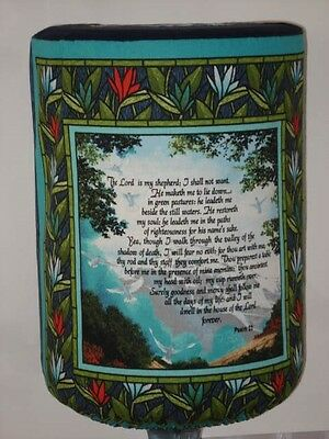 WATER COOLER BOTTLE THE LORD IS MY SHEPHERD PSALM 23 Quick shipping View Window