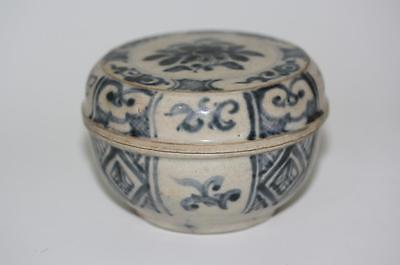 14th-15thc FINE ANTIQUE CHINESE BOX AND COVER