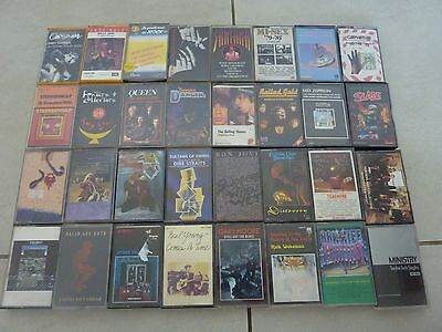 50 Assorted Rare Hard Rock Cassette Tapes!! Guns N Roses Stone Temple Pilots
