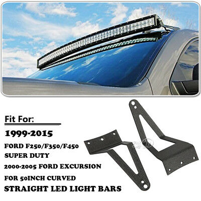 White 50inch cree curved led light bar combo w wiring kit for ford 50 2808w tri row curved cree led light bar mount bracket for ford mozeypictures