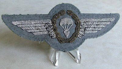 West German Airborne Parachute Para Paratrooper Jump Wing 3rd Class 1966 - 1983