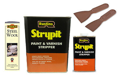 Rustins Strypit Paint and Varnish Stripper and Remover Non-Caustic ALL Sizes