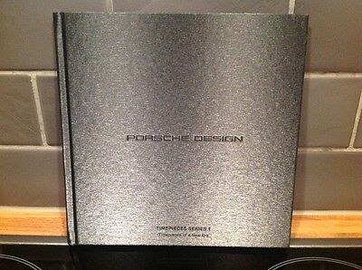PORSCHE DESIGN TIMEPIECES SERIES 1 2015 Hardback Brochure
