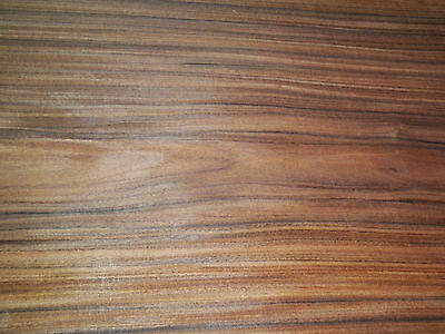 Santos Rosewood raw wood veneer 11 x 26 inches. 1/42nd thick           r6131-7
