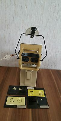 KEYSTONE VIEW Co. Stereoscopic Tester, Ophthalmic Tele Binocular Top