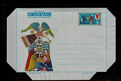 GREAT BRITAIN 9p STATIONARY CHRISTMAS STAMPED SPECIMEN !!
