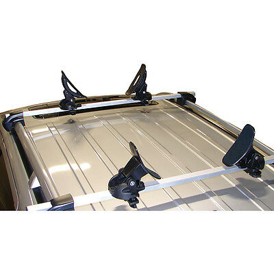 Malone Saddle Up Pro Universal Car Rack Kayak Carrier Set Of 4 Bow & Stern Lines