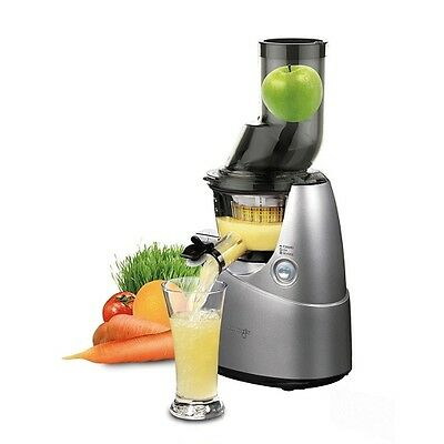 KUVINGS WHOLE SLOW JUICER b6000s CENTRIFUGA PROFESSIONALE SILVER