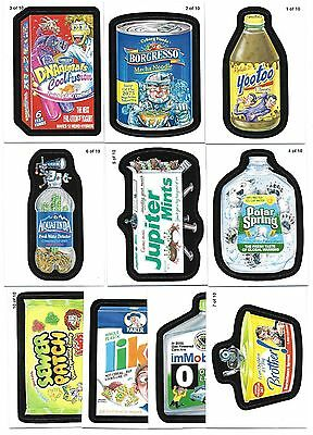 2011 Topps WACKY PACKAGES ANS Series 8 Pack to the Future Insert Set  (10 Cards)