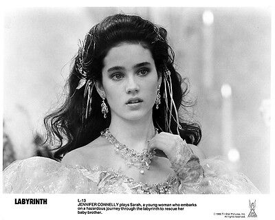 LABYRINTH movie photo : JENNIFER CONNELLY : reproduction movie photo print #13