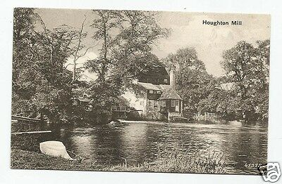 EJI Early Postcard, Houghton Mill, Huntingdonshire