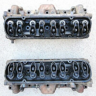 1981 TURBO Firebird Trans Am 301 CYLINDER HEADS good pair stored for over 25 yrs