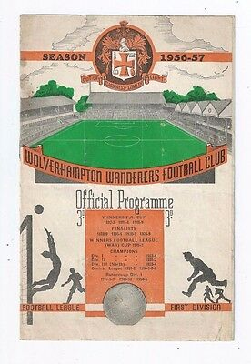 Programme Wolverhampton Wanderers V Swansea Town FA Cup third Round Molineux