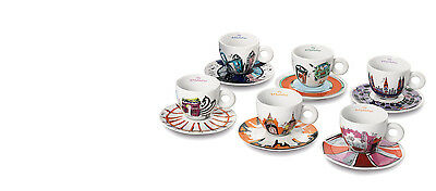 illy art collection Cappuccinotassen EMILIO PUCCI 6er Set